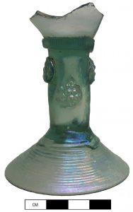 Roemer, wijnglas met braamnoppen, archeologie