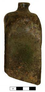 kelderfles, vierhoekige fles, archeologie
