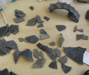 aardewerk uitleggen archeologie