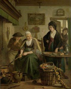 Pannenkoekenbakker, 17e eeuw, Pannenkoeken