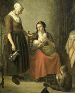 vrouwen met kind