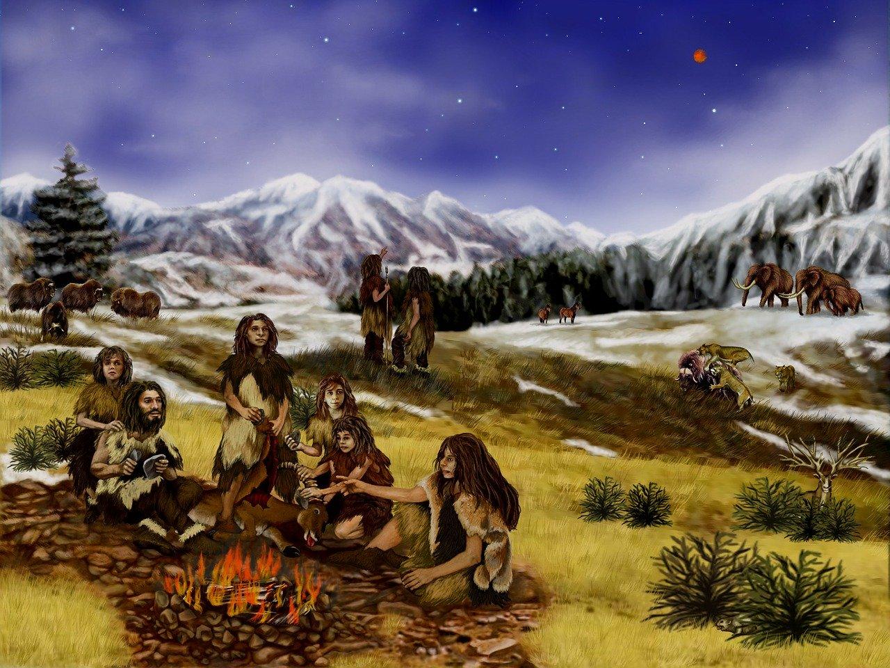 prehistorie: neanderthalers